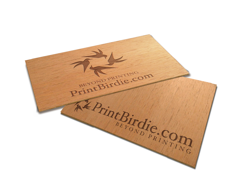 Business cards (Wooden)